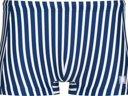 Mey zwemshort gestreept, blauw