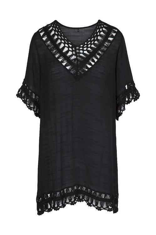 Lingadore strandkleedje, zwart