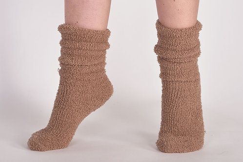Lords&Lillies warme sokken,camel/wit/zwart