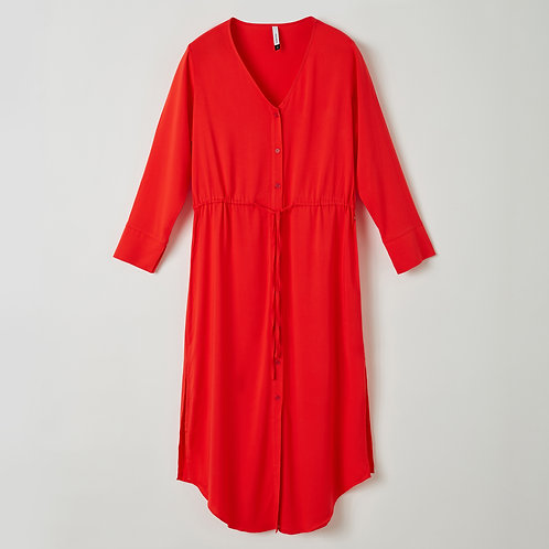 Lords&Lillies kleedje effen rood