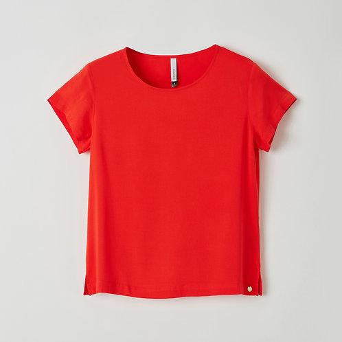 Lords&Lillies t-shirt+broek effen rood