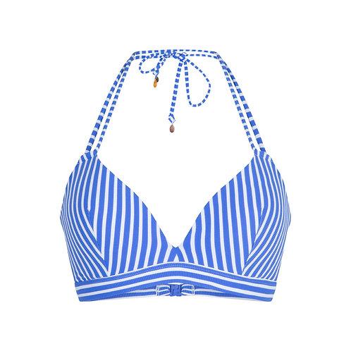 Lingadore BOSSA voorgevormde bikiniset triangel, blauw