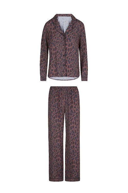 Lingdore animal print pyjamaset