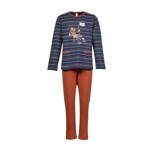 WOODY pyjama meisjes/dames geit, effen broek