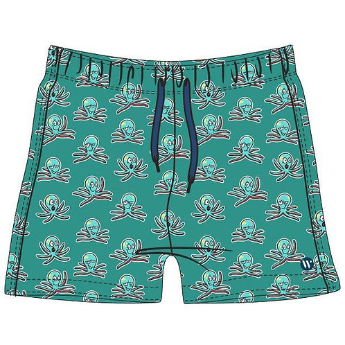 Woody zwemshort octopus, groen