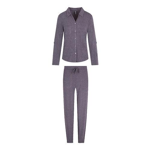 Lingadore pyjamaset doorknoop, winetasting