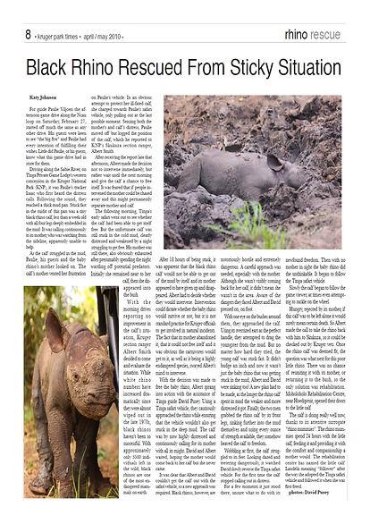 Landela Safaris - Landela kruger in mud