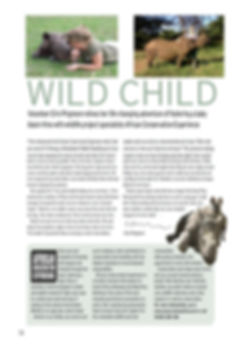 Landela Safaris -wild child