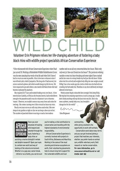 Landela Safaris -wild child