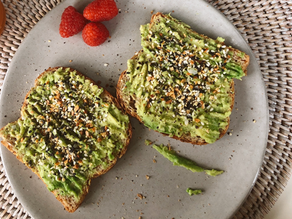 five WAYS TO FANCY UP YOUR AVO TOAST