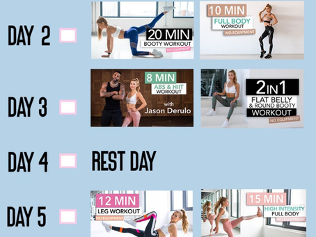 The Best Fitness Accounts for At Home Workouts during Quarantine