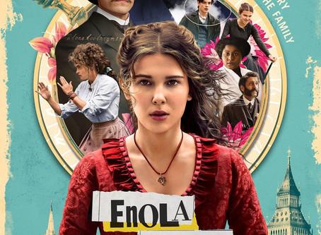 """an """"iris"""" on Netflix's Enola Holmes"""
