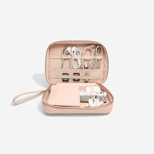 Stackers Blush Cable Tidy Bag