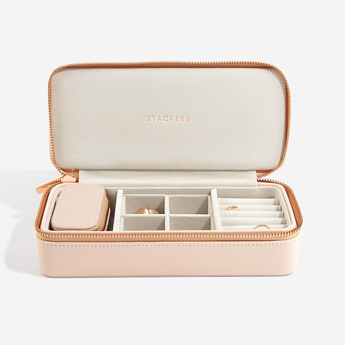 Stackers Blush Large Travel Jewellery Box