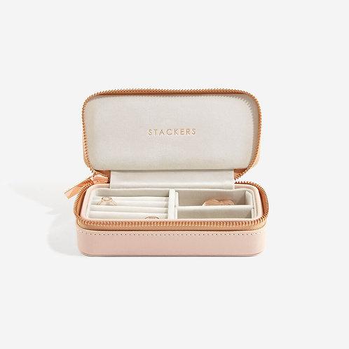 Stackers Blush Medium Travel Jewellery Box