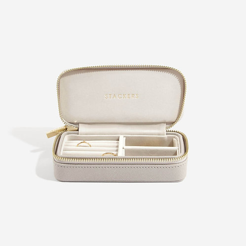 Stackers Taupe Medium Travel Jewellery Box