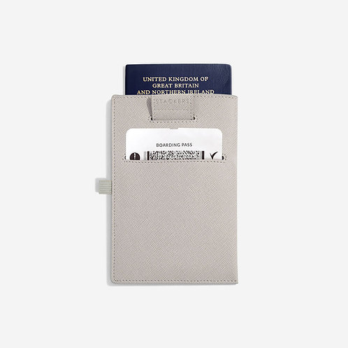 Stackers Taupe Passport Sleeve