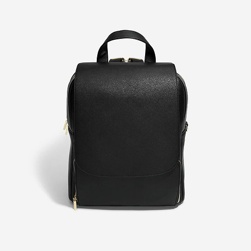 Stackers Black Backpack