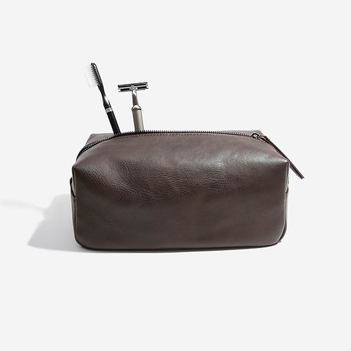 Stackers Brown Washbag