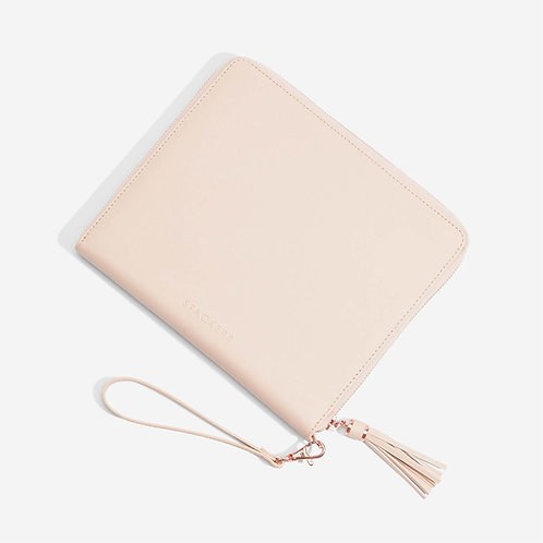 Stackers Blush Clutch Bag
