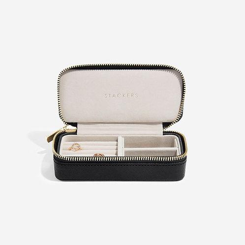 Stackers Black Medium Travel Jewellery Box
