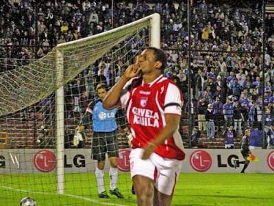 Leider Preciado, segundo máximo goleador histórico de Santa Fe