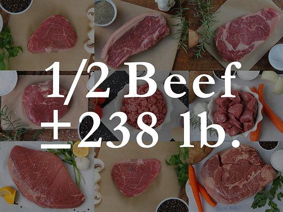 Pre-Sell: Half Beef Bundle Box