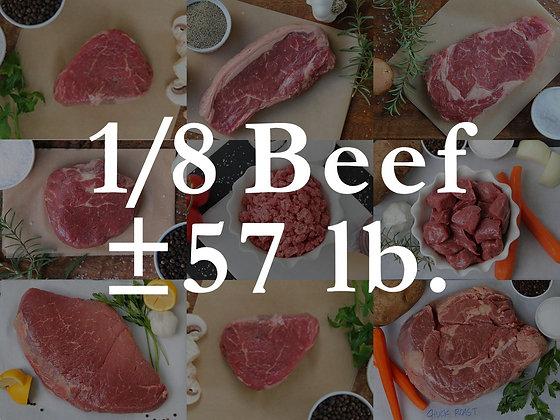 1/8 Beef Bundle Box