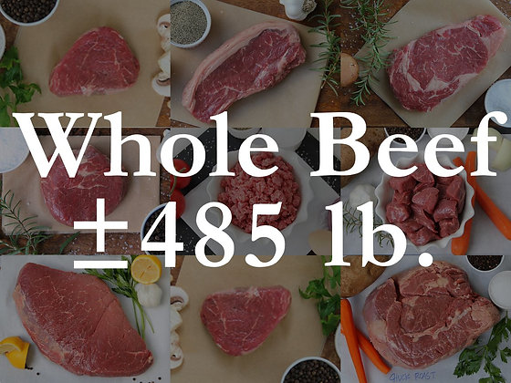 Pre-Sell: Whole Beef Bundle Box