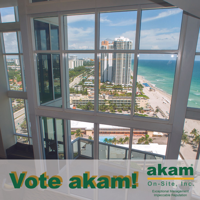 Thank you for voting AKAM!