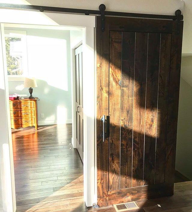 Spanish Oak Barn Door
