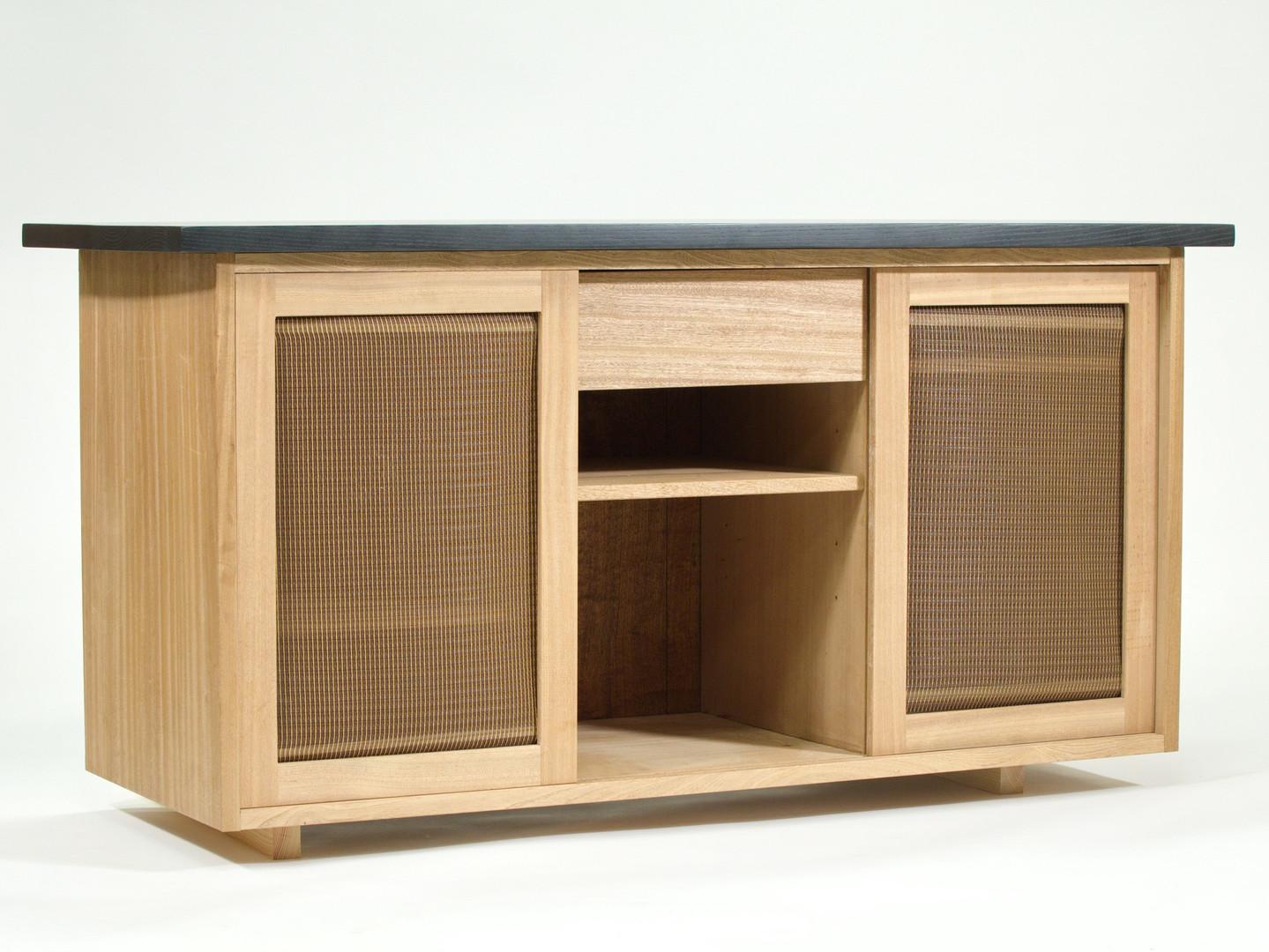 Bar Cabinet - Rust