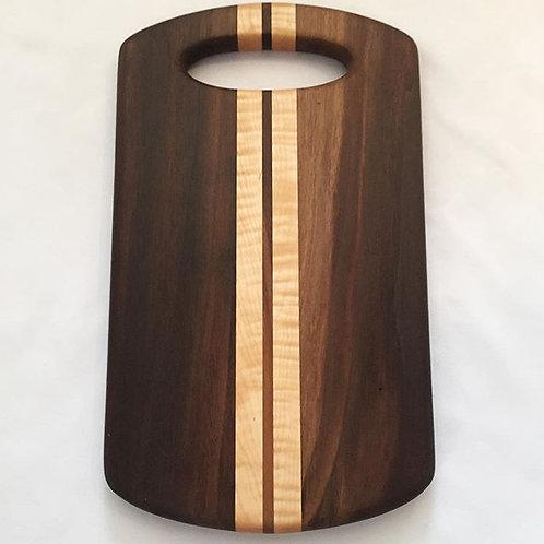 Walnut/maple serving board