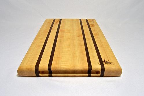 Maple/walnut block
