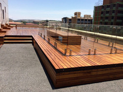 Agrivaal Eco Green Building Wooden Deck