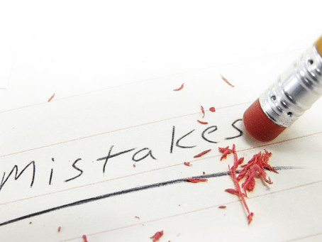 How you best deal with mistakes