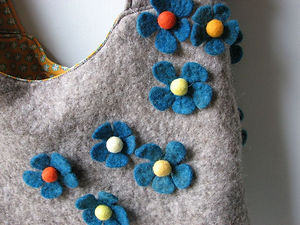 Felted bag Fibre Gifts and Crafts