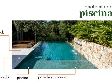 Anatomia da Piscina! Saiba como escolher os acabamentos certos para sua área de lazer