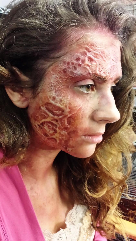 Burn Makeup - Evil Dead