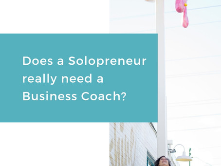 Does a Solopreneur Need A Business Coach?
