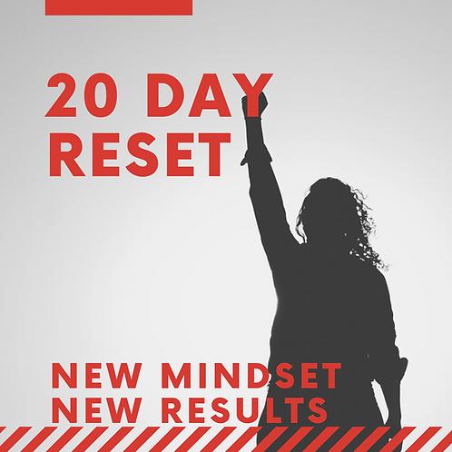 20 Day Mindset Reset