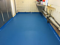 RSS polyscreed repaired floor