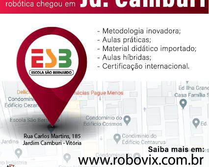 Robovix abre polo educacional em Jardim Camburi - Vitória