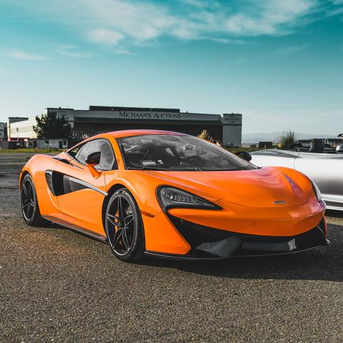Orange McLaren 570s | Adam DePuit Photography