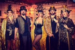 Madame Moustache night💫✨_Black and gold⭐️🎩_Maxlead Company party ✨_Madame Moustache Denhaag