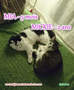 MIA et MICKIE JANVIER 06