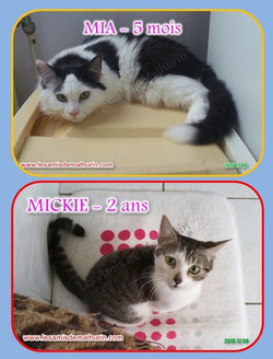 MIA et MICKIE