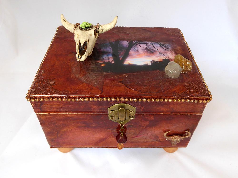 Jewelry Box - New Mexico design