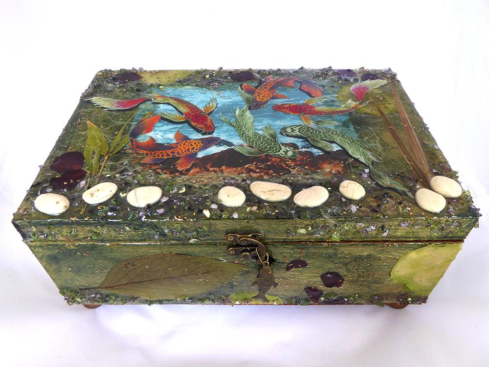 Koi/Fish Jewelry Box