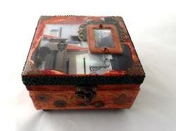 Lisbon decorative jewelry box